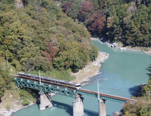 天竜峡大橋開通